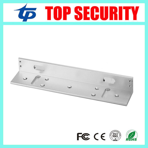 L bracket for 280KG EM lock to install to narrow door access control system 600LBS magnetic lock L bracket