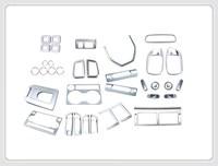 55pcs Chrome Interior Kit Trim For Land Rover Discovery Sport 2015 2016