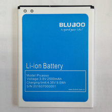 Для bluboo пикассо пикассо 2500 мАч оригинальный аккумулятор для bluboo 5.0 дюймов mtk6580 quad core сотовый телефон на складе