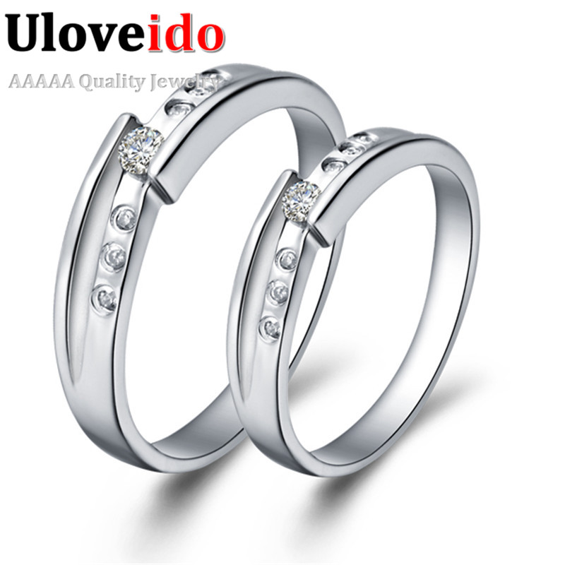 Uloveido Couple Rings Price Wedding Ring Engagement Rings Silver
