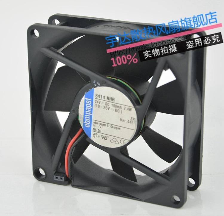 Подробнее о Free Shipping For ebmpapst  8414 NHR  DC 24V 2.4W 2-wire 80mm, 80X80X25mm Server Square fan oasis discovery 8414 06 оранжевый