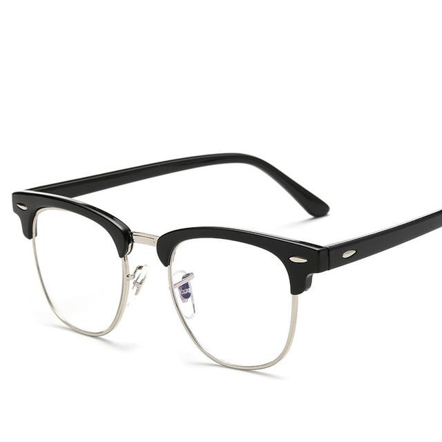 Soolala novo ultraleve moda vidros ópticos quadro mulheres homens limpar óculos de computador óculos óculos de prescrição do vintage