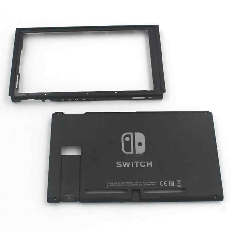 Replacement Hard Top&Bottom Housing Shell Case Front Back Faceplate Part for Nintendo Switch NS NX Console