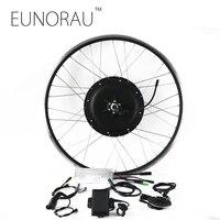 Мощный электрический велосипед E велосипед конверсионный комплект 48V1000W передний/задний комплект мотор концентратор