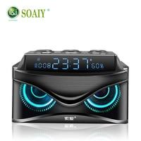 Original SOAIY Bluetooth speaker Portable Wireless Loudspeaker Sound System 19W stereo Music surround Waterproof Outdoor Speaker