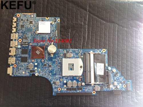 659147-001 Fit For HP DV6 DV6-6000 laptop motherboard HM65 wholesale for hp dv6 6000 659150 001 hm65 non integrated motherboard 100% work perfect