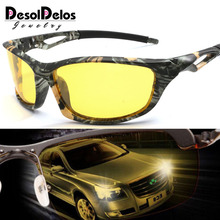 Men Driving Sunglasses Polarized Mirror Sun Glasses Classic Night Goggles Brand Designer Eyewear UV400 Gafas de sol 2019 стоимость