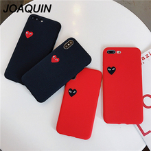 cd98c920da3929 joaquin Japan CDG PLAY Comme des Garcons Loving For iphone 7 8 6 6s Plus X  Xs Max Xr