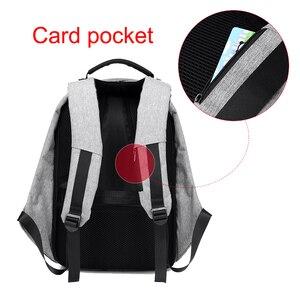 Image 3 - Anti theft Backpack Bag 15.6 Inch Laptop Men Mochila Male Waterproof Back Pack Backbag Large Capacity School Backpack