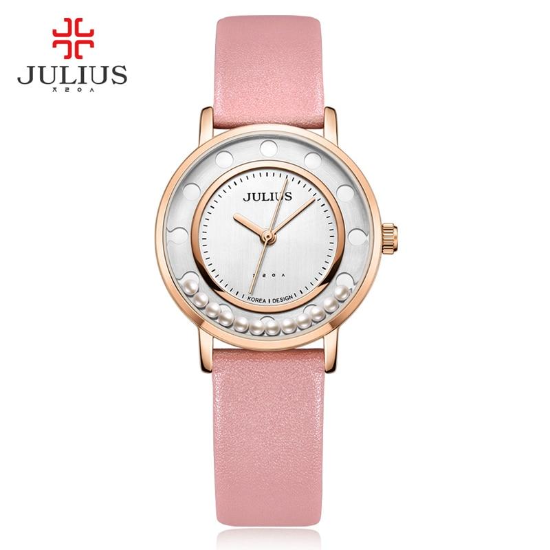 JULIUS Prekės ženklai Laikrodžiai Moterų mados Pigūs kokybiški laikrodžiai Aukščiausios klasės nikelis Nemokamas japoniškas kvarcas Movt suknelė Žiūrėti dovaną JA-927