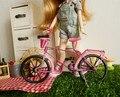 Бесплатная доставка блайт кукла велосипед красочный синий розовый красный подходит для блайт кукла
