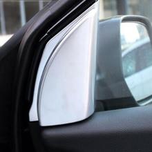 For Honda CRV CR-V accessories 2012-16 ABS Chrome Car interior A-pillar Speaker Loudspeaker Horn Cover Trim Car Styling