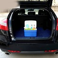 8L Portable Mini Warming and Cooling Vehicle Refrigerator Blue Car Freezer Fridge Hot and Cold For Car&Home Travel Double Use