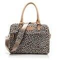 Pop Fashion Leopard Ladies Handbag Laptop Bag 13,14 15,15.6 inch,Shoulder Messenger Case Notebook, For Macbook, Free Drop Ship.