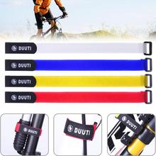 25cm Length Bicycle Handlebar Strap Bicycle Pump Strap Universal Nylon Sticky Tie Fixed Items Bike Strap Bicycle Accessories