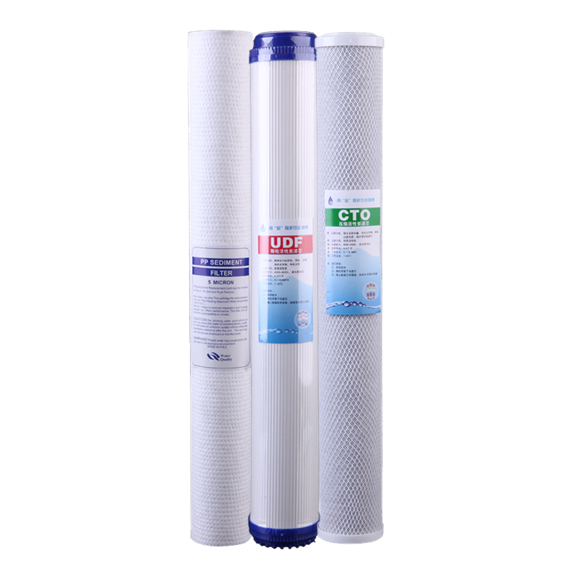 где купить Water Purifier Water Filter 20-inch Filter Sets PP Cotton Activated Carbon по лучшей цене