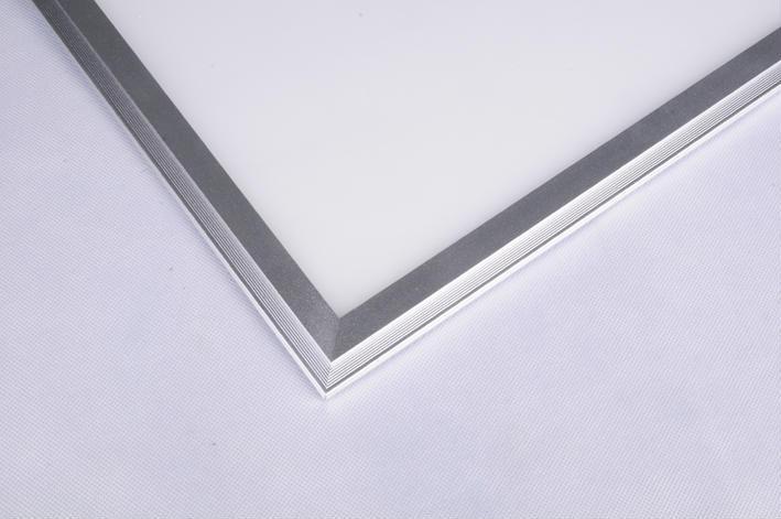 Бесплатная доставка 10 шт./лот 620×620 мм 36 Вт серебряная рамка светодиодные панели с DALI затемнения драйвера 3000 К-6500 К цвет