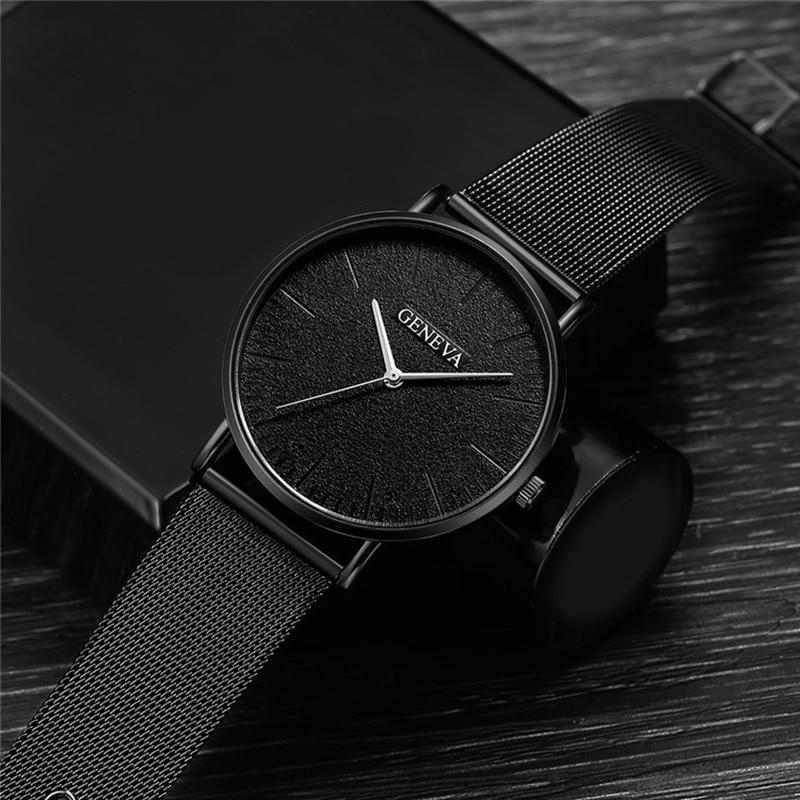 Luxury Brand 2019 New Men Watch Ultra Thin Stainless Steel Clock Male Quartz Sport Watch Men Casual Wristwatch relogio masculino 2