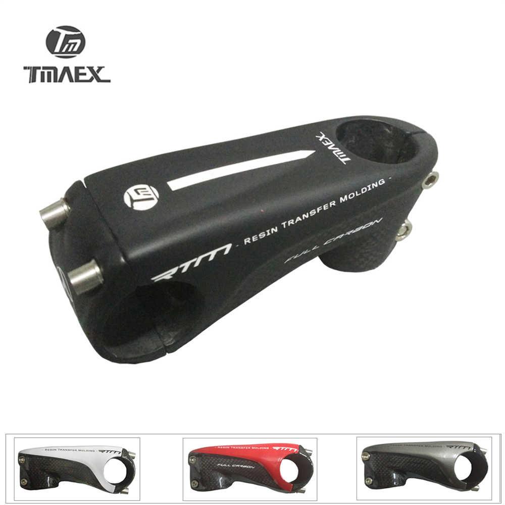 6a77e7736da TMAEX - 2019 New pattern Ultralight Full 3k Carbon Stem Black Matte Road  Bike Stem 80