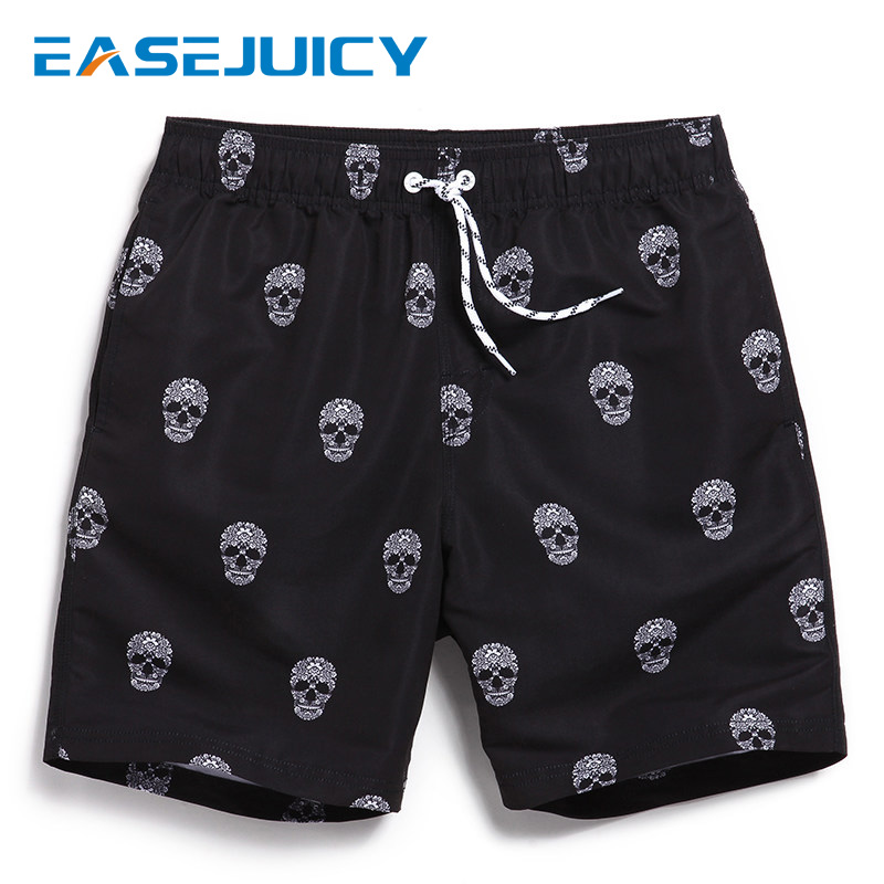 New Men's   board     shorts   bathing suit swimsuit liner joggers printed plavky sexy beach   shorts   swimwear surfboard joggers