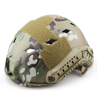 Outdoor Tactical Protective Helmet Core CS Face Head Paintball Game Ops Fast Protector Mask Safety