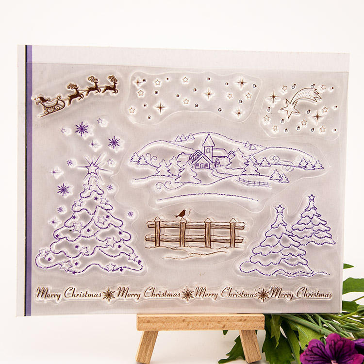 NCraft Clear Stamps N5066 Scrapbook Paper Craft Clear stamp scrapbooking Winter ncraft clear stamps sb04 scrapbook paper craft clear stamp scrapbooking