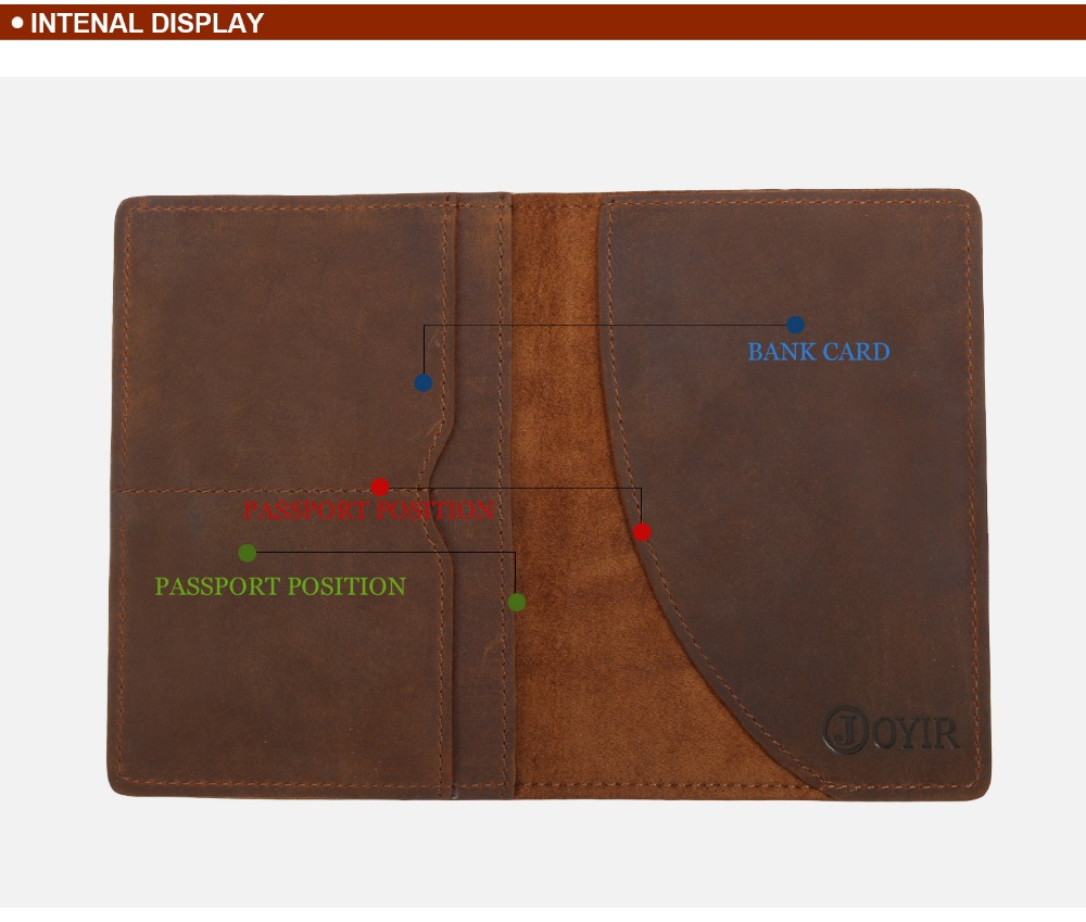 K018-- Luxury Genuine Leather Passport Holder Wallet_01 (4)