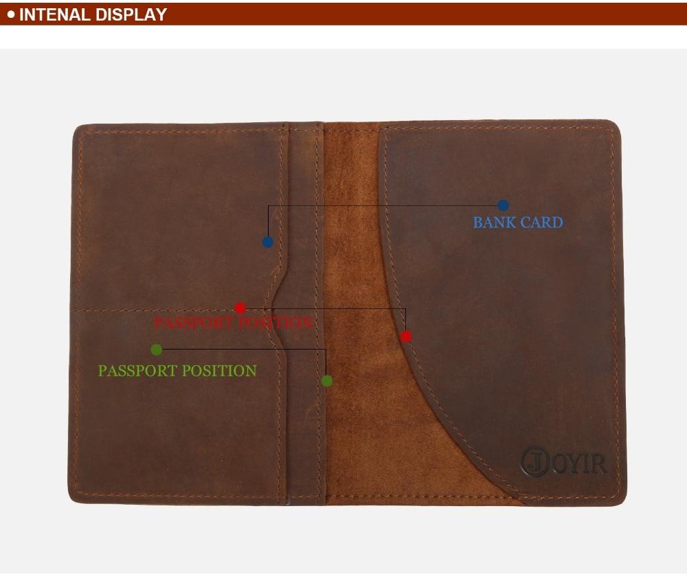 K018-- Luxury Genuine Leather Passport Holder Wallet_01 (4)