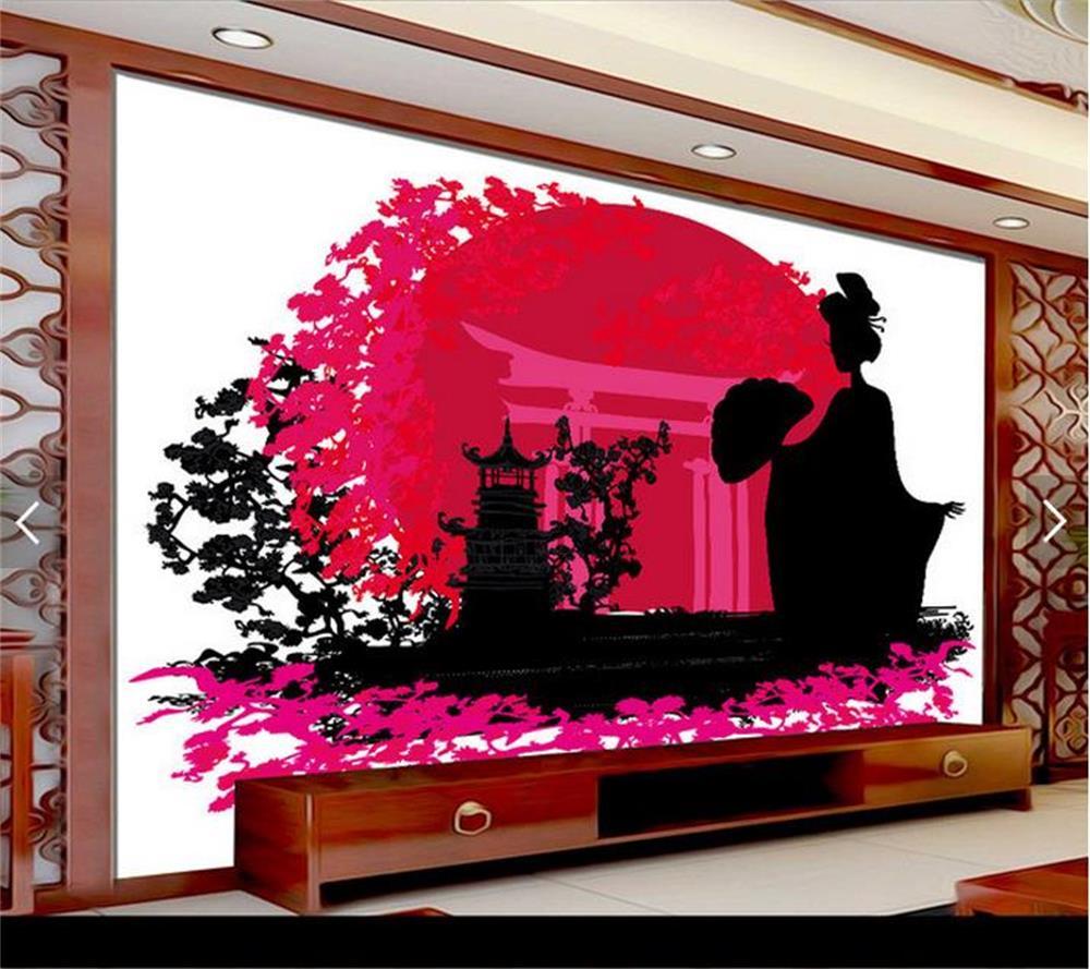 Vente en gros traditionnel japonais peintures d'excellente qualité ...