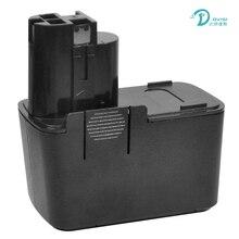 Dvisi 12 В 2000 мАч Перезаряжаемые Батарея пакет Механические инструменты Батарея для Bosch bat011, bh1214h, bh1214l, bh1214mh, h1214n ni-cd