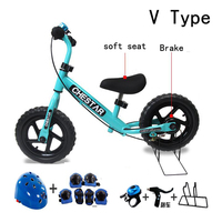 High Quality CHESTAR 12 Inch Baby Balance Bike With Brake And High Carbon Steel Frame And