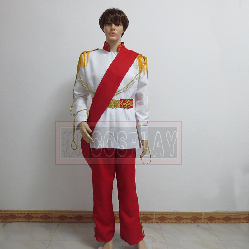Cinderella Prince Cosplay Costume Any Size