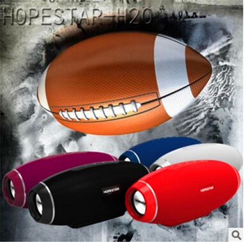 HOPESTAR Original H20 Rugby Bluetooth Lautsprecher Spalte Drahtlose Tragbare Mini Wasserdichte Mega Bass Stereo outdoor Subwoofer TF USB