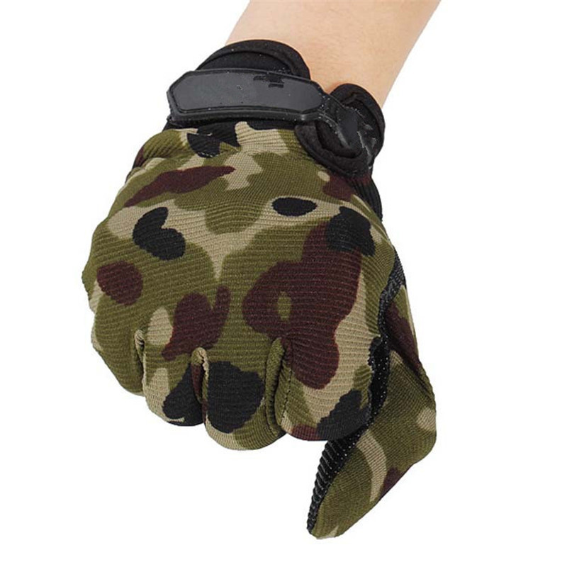 High Quality Outdoor Camping Military Tactical Gloves Sports Training Gloves Hiking Game Full Finger Hiking Gloves
