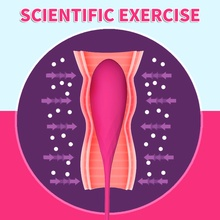 Vaginal Balls Smart Kegel Tighten Exerciser Silicone Vibrator  Ball Ben Wa Adult Sex Product for women