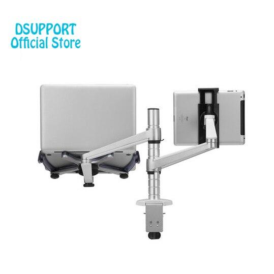 OA-9X Paresseux Tablet Ordinateur Portable Stand Réglable Hauteur Support Rotatif pour Ordinateur Portable dans les 10-16 pouce et Tablet PC 7-10 pouce