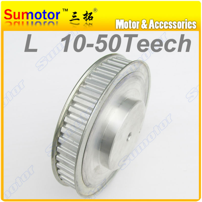 L50T Bore 16mm 50Teeth Pitch 3/8  9.525mm Synchronous Belt Timing Pulleys wheel for 3D printer CNC parts Engraving Machine PartL50T Bore 16mm 50Teeth Pitch 3/8  9.525mm Synchronous Belt Timing Pulleys wheel for 3D printer CNC parts Engraving Machine Part
