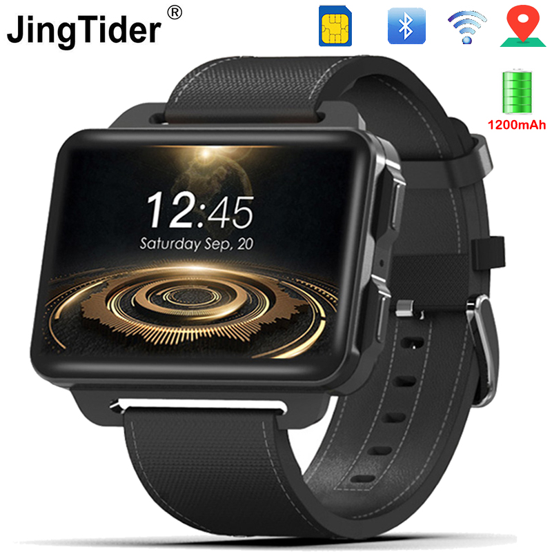 DM99 3G Smart Watch 1200mAh Battery 2.2 IPS Screen 1GB/16GB MTK6580 Quad Core Android Smartwatch BT4.0 GPS Wifi Wearable Device s6 5 ips hd mtk6589 smartphone 1gb 16gb 13 0mp android 4 2 3g gps