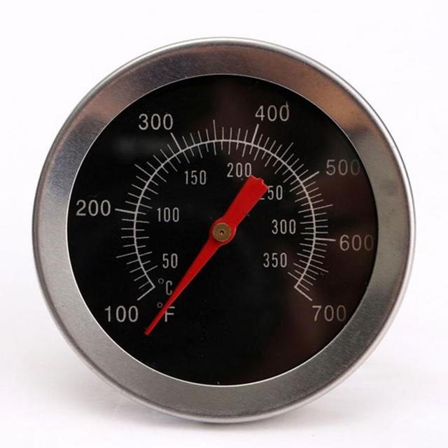 In acciaio inox Barbecue Accessori Grill Termometro di Carne Quadrante Temperatu