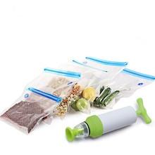 Vacuum Food Sealer Bag Rolls Saver Storage Bags Sous Vide Bag 5pcs/set недорого