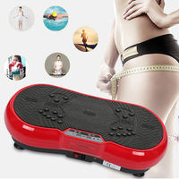 Fitness Vibration Massage Plate Body Building Shaping Slimming Weight Loss Machine Rejection of fat Gym Exercise Fitness Device