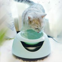OLN Pet automatic water dispenser intelligent night light kitten circulating fountain electric water dispenser dog feeding basin