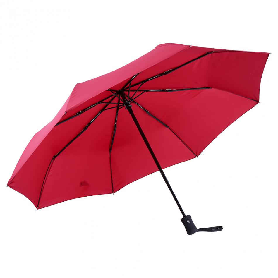 sun protection fully automatically folding parasol sunny and rainy umbrella anti uv rainy hat. Black Bedroom Furniture Sets. Home Design Ideas