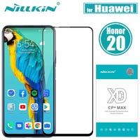 Huawei Honra Protetor de Tela de Vidro Nillkin 20 XD CP + MAX Cobertura Completa de Segurança Vidro De Proteção em Huawei Honra 20 vidro temperado