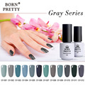 Born Pretty 1 Bottle 5ml UV Gel Polish Beauty Grey Series Nail Art Gel Soak Off UV Polish