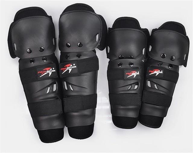 4 unids motocicleta equipo protector de la rodilla rodilleras protector deslizante equipo de motocross moto motocicleta protector de codo protección de la pierna