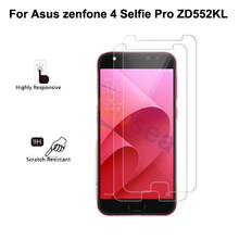 For Asus zenfone 4 selfie pro ZD552KL ultra thin Premium Tempered Glass Screen Protector screen protective film for zenfone4 pro(China)