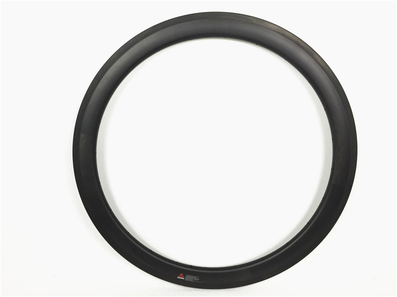 Road Farsports FSL50 CM 23 Clincher 50mm 23mm wide carbon clincher rim 50, Road bicycle carbon wheels rims Tubeless design