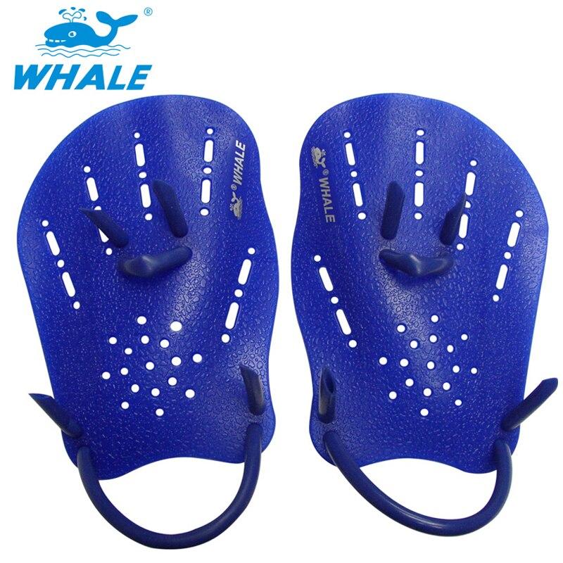 Profesional nadar paletas formación ajustable de mano guantes palmeados principiante aletas para hombres y mujeres niños aprender equipo