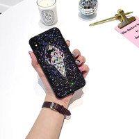 High Quality Transparent TPU 3D Colorful ICE Cream Mobile Phone Cases For IPhone7 7Plus 6 6S